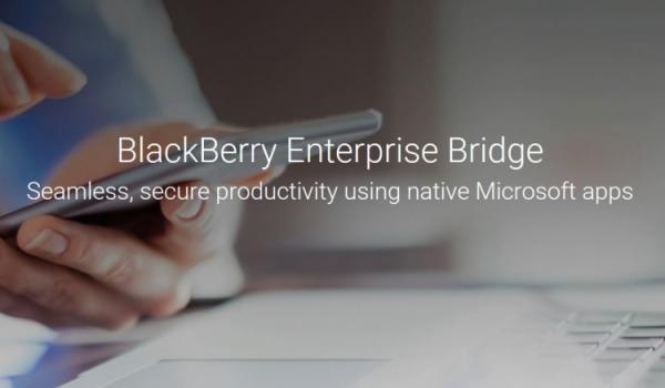 BlackBerry Enterprise BRIDGE для BlackBerry Android