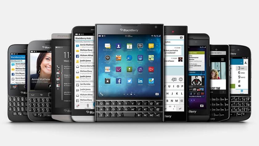BlackBerry — смартфоны для деловых людей