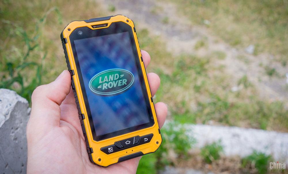 Защищенные смартфоны Land Rover получат безопасные функции BlackBerry