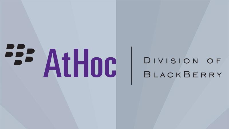 BlackBerry AtHoc — координация и безопасность идут рука об руку