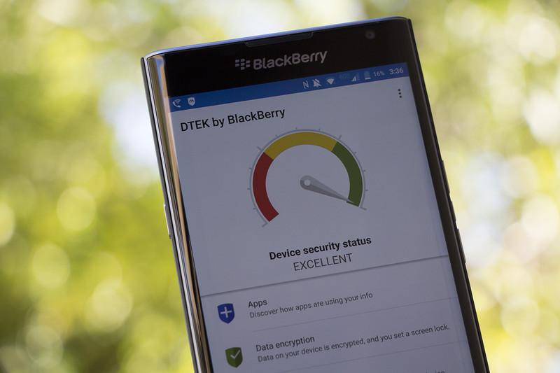 Приложение DTEK для BlackBerry Android