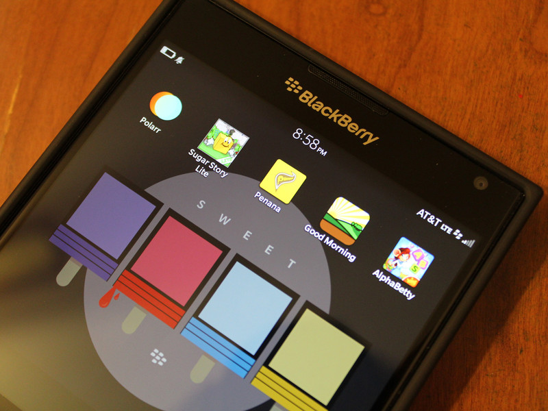Приложение BlackBerry Галерея для BlackBerry Android