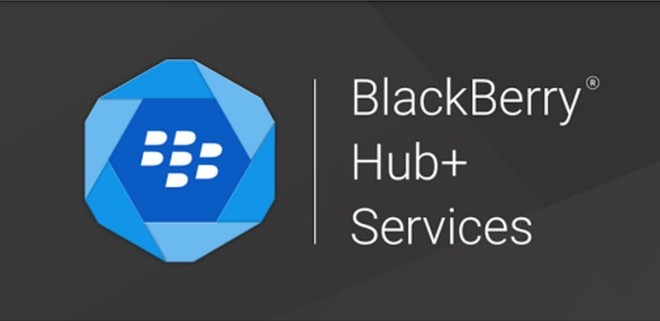 Приложение Службы BlackBerry Hub+ BlackBerry Android