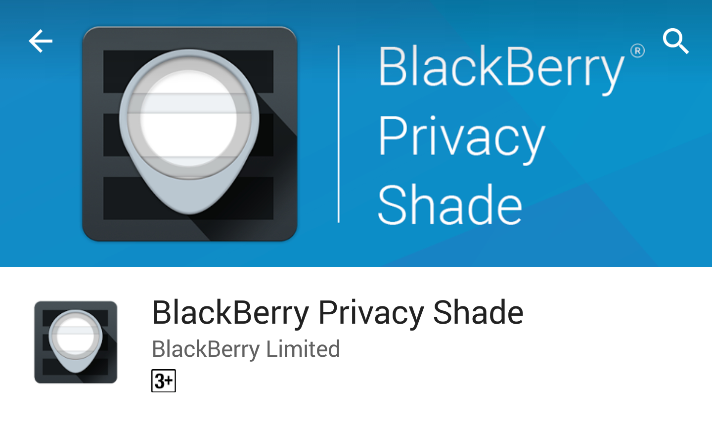 BlackBerry Privacy Shade для BlackBerry Android