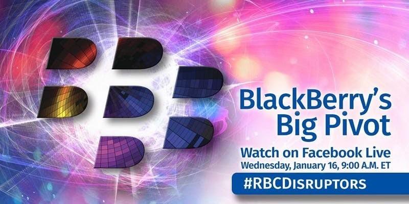 RBC DISRUPTORS: CEO BLACKBERRY РАССКАЖЕТ О НОВОЙ СТРАТЕГИИ КОМПАНИИ