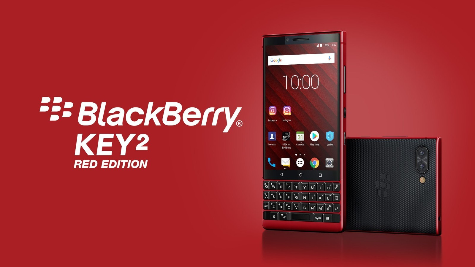 Компания TCL представила новый BLACKBERRY KEY2 RED EDITION