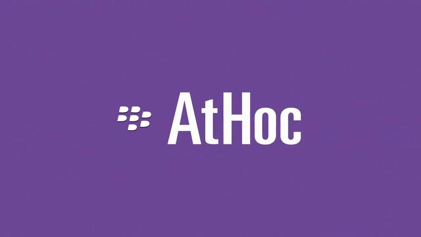BlackBerry представляет управляемый сервис AtHoc