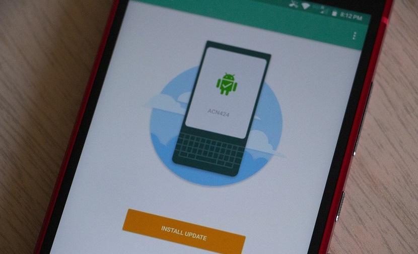 Обновление программного обеспечения BlackBerry KEY2 ACN424